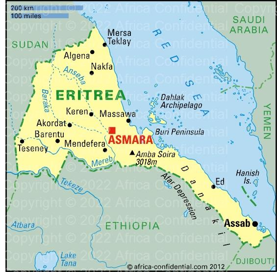 Eritrea browse by country africa confidential click here to see more maps gumiabroncs Gallery