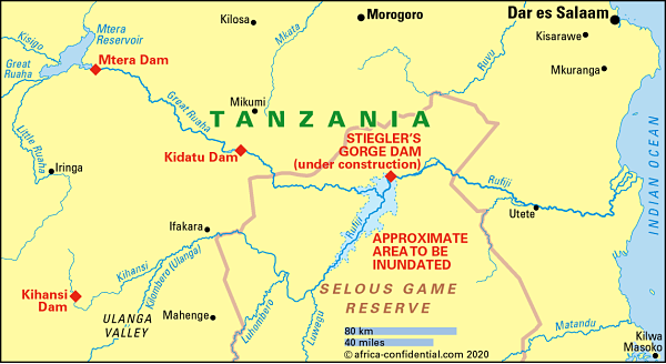 Magufuli wants a mega-dam