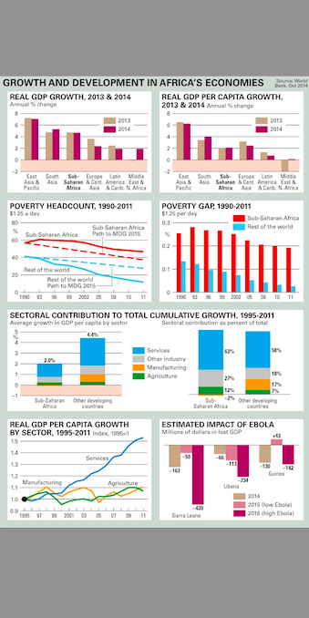 Growth and development in Africa's economies