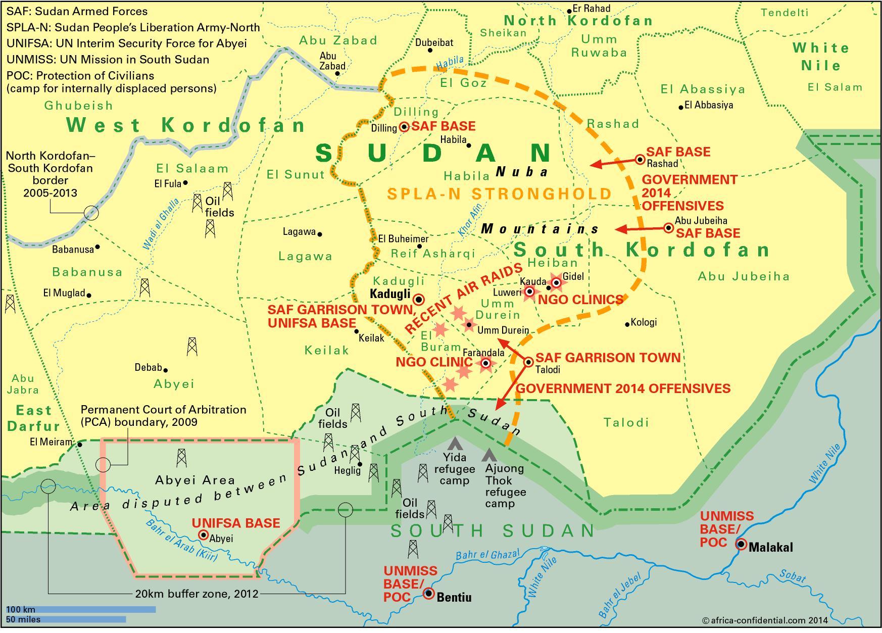 More calls for Nuba talks | Article | Africa Confidential