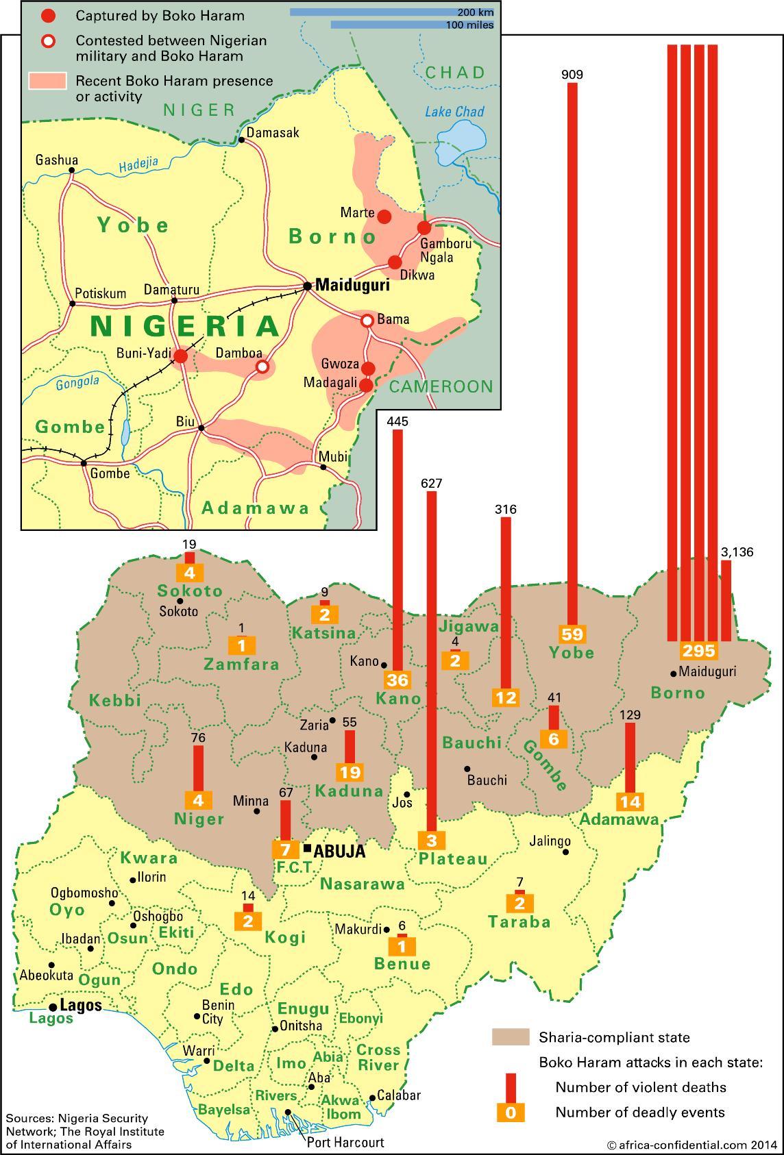 Adama, Nigeria Africa Map | Biofocuscommunicatie