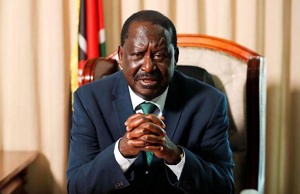 Raila Odinga, Nairobi, February 2021. Thomas Mukoya / Reuters / Alamy
