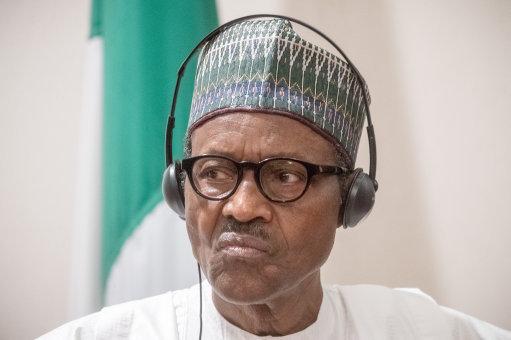 President Muhammadu Buhari. Pic: Michael Kappeler/DPA/PA Images