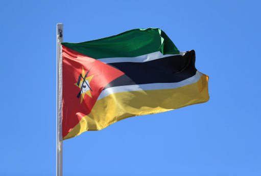 Mozambique flag. Pic: Mike Egerton/PA Archive/PA Images