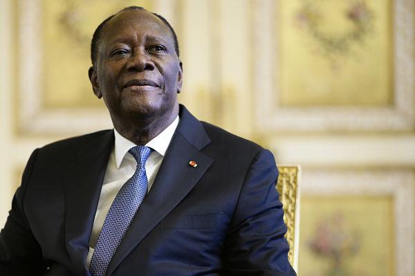 Alassane Ouattara. Pic: Eliot Blondet/ABACA/PA Images