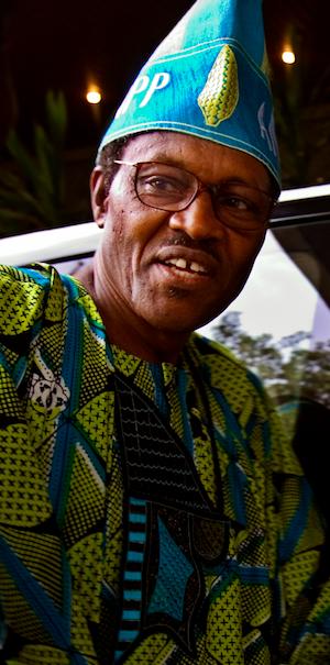 Muhammadu Buhari. Credit: Jacob Silberberg / Panos