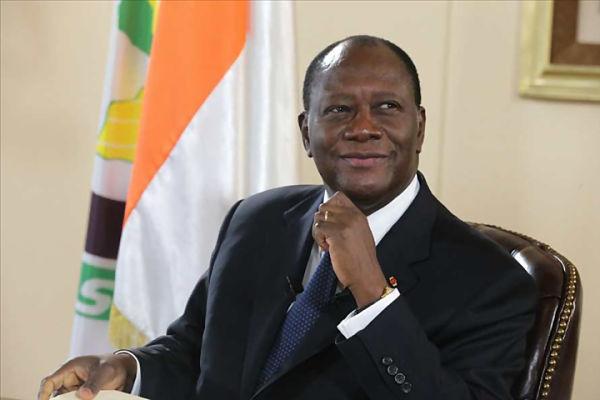 Alassane Ouattara. Pic: gouv.ci