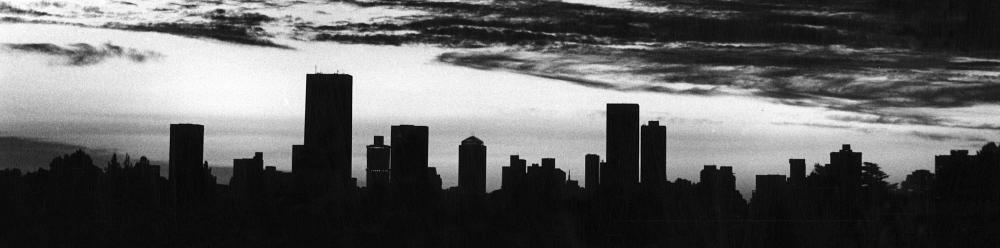 Johannesburg skyline at dusk. Dieter Telemans / Panos
