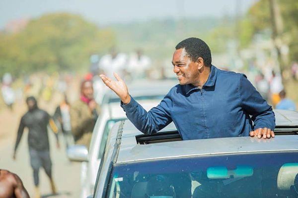 Hakainde Hichilema. Pic: Twitter