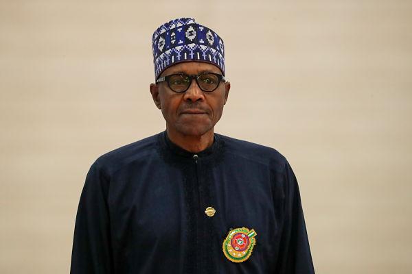 Muhammadu Buhari. Pic: Anton Novoderezhkin/Tass/PA Images