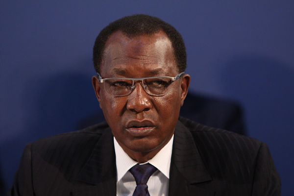 President Idriss Déby Itno. Pic: Foreign, Commonwealth & Development Office (CC BY 2.0)