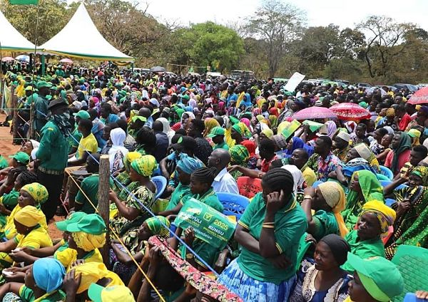CCM supporters, September 2020. Pic: CCM Tanzania