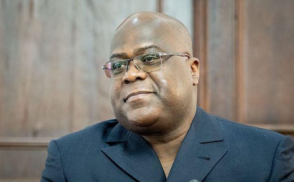 Felix Tshisekedi. Pic: Kay Nietfeld/DPA/PA Images
