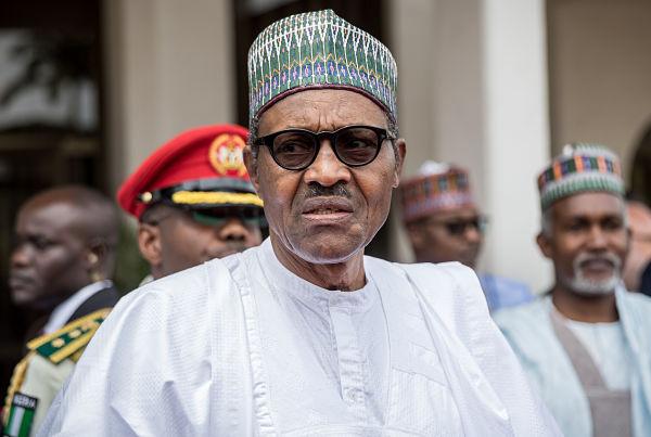Muhammadu Buhari. Pic: Michael Kappeler/DPA/PA Images