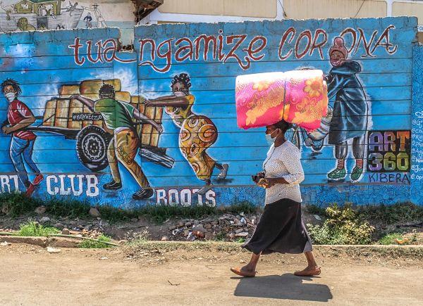 Kibera, Nairobi, September 2020. Pic: Donwilson Odhiambo/SOPA Images/SIPA USA/PA Images
