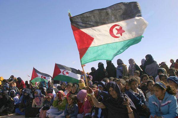 Smara refugee amp, Algeria. Pic: Ammi Louiza/ABACA/ABACA/PA Images
