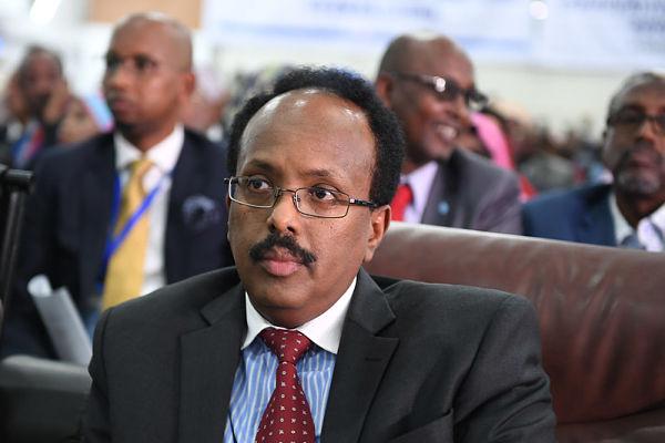 Mohamed Abdullah Mohamed 'Farmajo'. Pic: AMISOM / Ilyas Ahmed