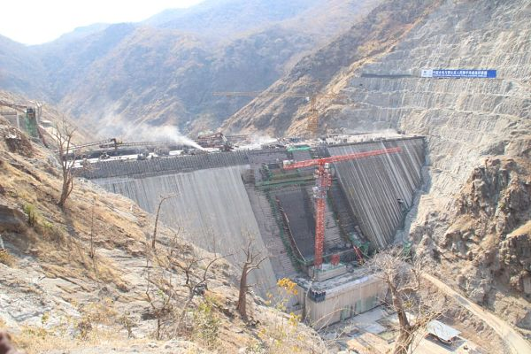 Kafue Gorge Lower Hydroelectric Power Plant. Pic: Zesco