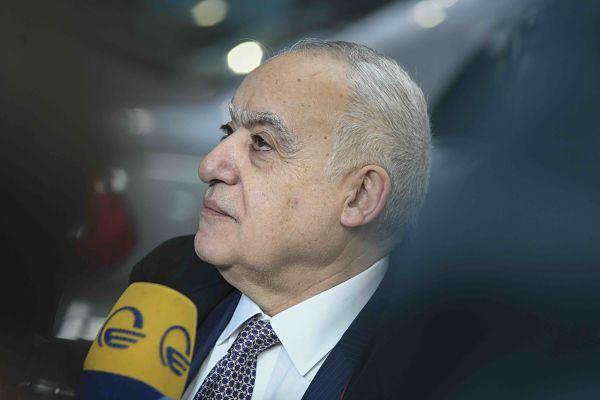 Ghassan Salamé. Pic:Riccardo Pareggiani/NurPhoto/PA Images
