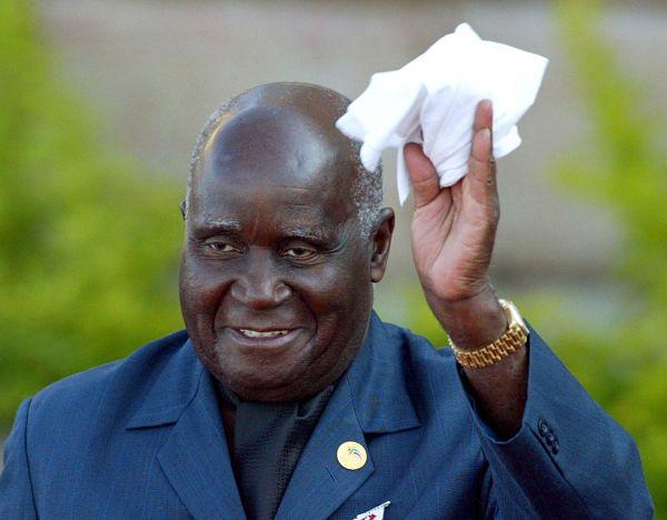Kenneth Kaunda. Pic: Mike Hutchings / Reuters / Alamy