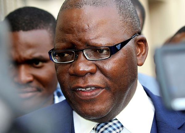 Tendai Biti, September 2016. Pic: Philimon Bulawayo / Reuters / Alamy Stock Photo