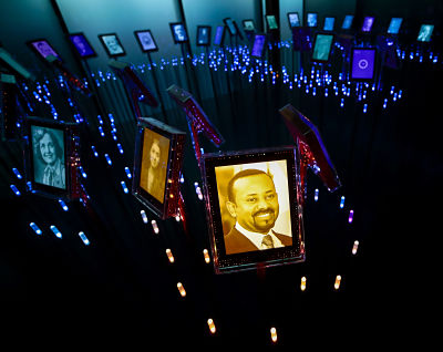 The 2019 Nobel Peace Prize goes to Ethiopian Prime Minister Abiy Ahmed. Pic: Lise Aserud/TT News Agency/PA Images