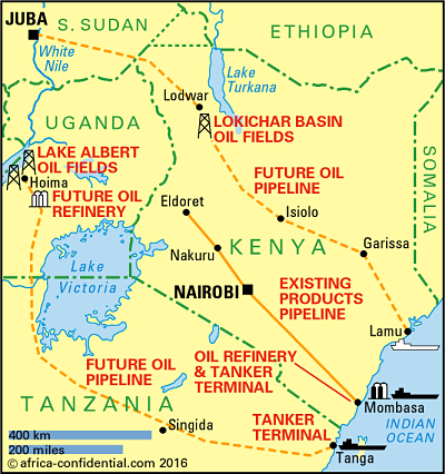 Map Copyright © Africa Confidential 2016