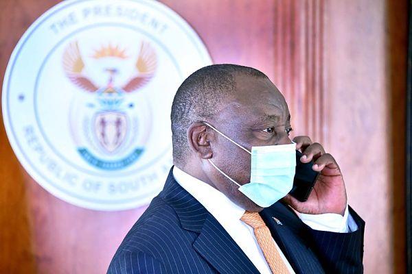 Cyril Ramaphosa. Pic: GCIS