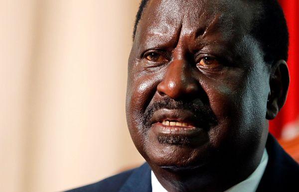 Raila Odinga, February 2021. Pic: Thomas Mukoya / Reuters / Alamy
