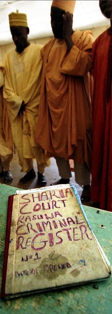Hearing in a Sharia court - Sven Torfinn / Panos
