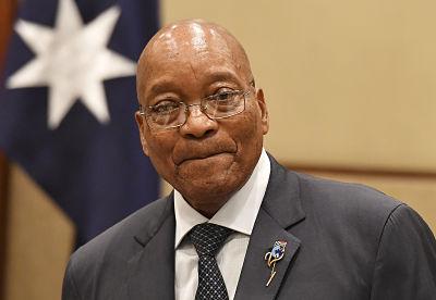 Jacob Zuma. Pic: (AAP Image/Mick Tsikas