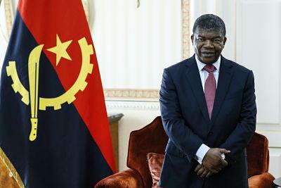 President, João Lourenço. Pic: Alexander Shcherbak/Tass/PA Images