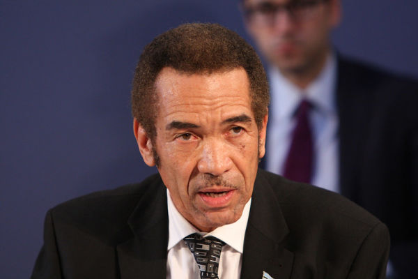 Ian Khama. Pic: Foreign, Commonwealth & Development Office (CC BY 2.0)