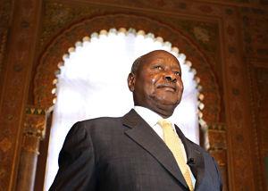 President Yoweri Museveni. Pic: Eugene Hoshiko / AP/Press Association Images