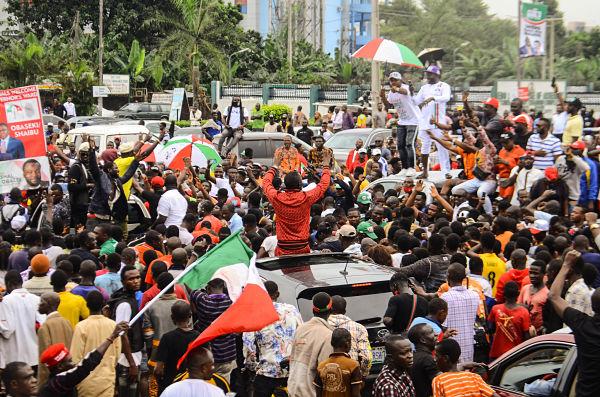 Benin City, Nigeria, 20 September 2020. Pic: Olukayode Jaiyeola/NurPhoto/PA Images