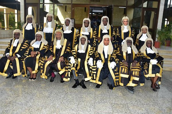 Justices of the Supreme Court of Nigeria. Pic: supremecourt.gov.ng