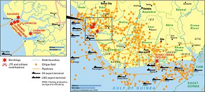 Nigeria map © Africa Confidential 2016