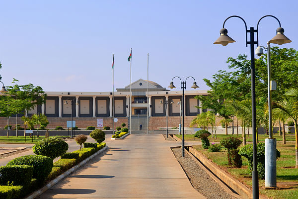 Houses of Parliament, Lilongwe. Pic: robnaw / stock.adobe.com