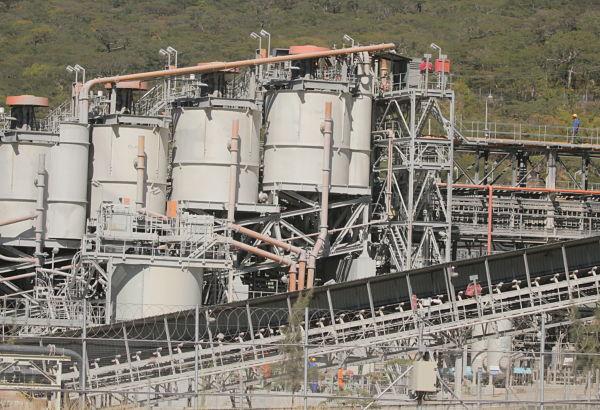 Platinum mine in Zimbabwe. Pic: Shaun Jusa/Xinhua News Agency/PA Images