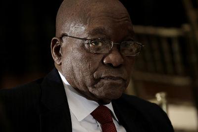 Jacob Zuma. Pic: Pool/ABACA ABACA/PA Images