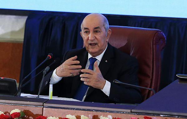 Abdelmadjid Tebboune. Pic: Billal Bensalem/NurPhoto/PA Images