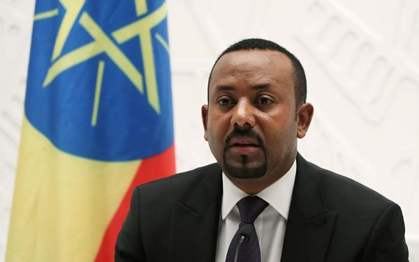 Abiy Ahmed. Pic: Tiksa Negeri / Reuters / Alamy Stock Photo