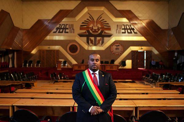 Karim Keïta. Pic: Joe Penney / Reuters / Alamy