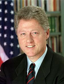 Bill  Clinton (Born: William Jefferson Blythe III)