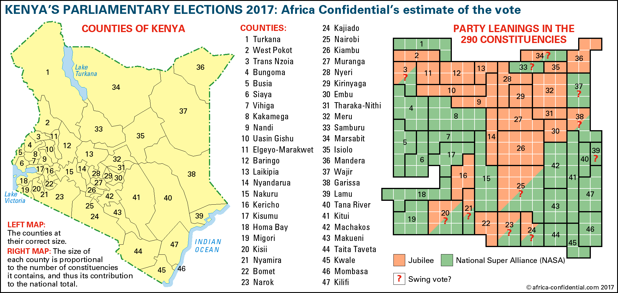 Map Copyright © Africa Confidential 2017