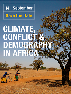 Climate, Conflict & Demography in Africa